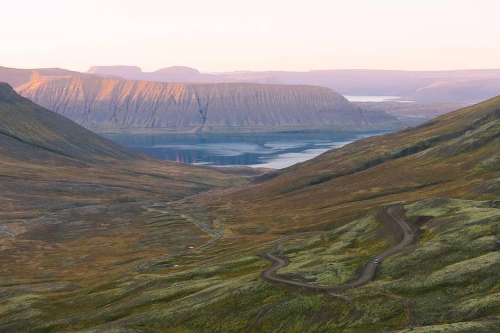 Driving Westfjords
