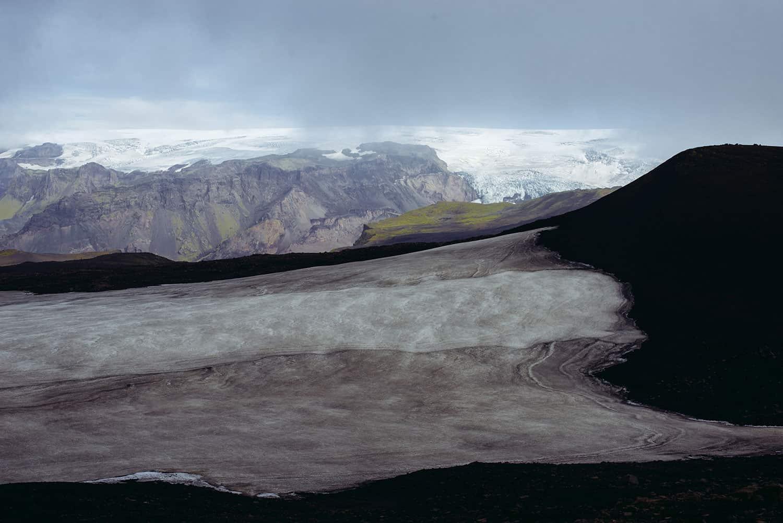 volcanos near eyjafjallajokull