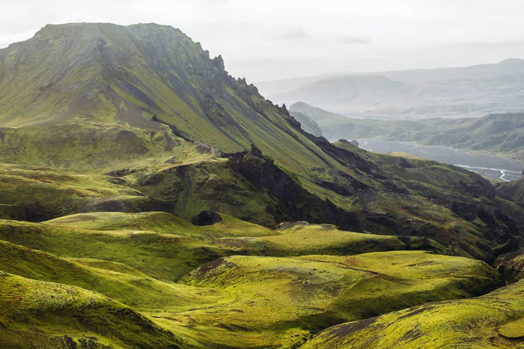 Thórsmörk-landscape